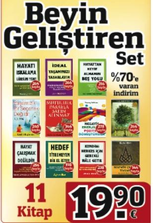 Beyin Geliştiren Kitaplar Seti<br />(11 Kitap Birarada)<br />40,- Euro Tasarruf Edin!