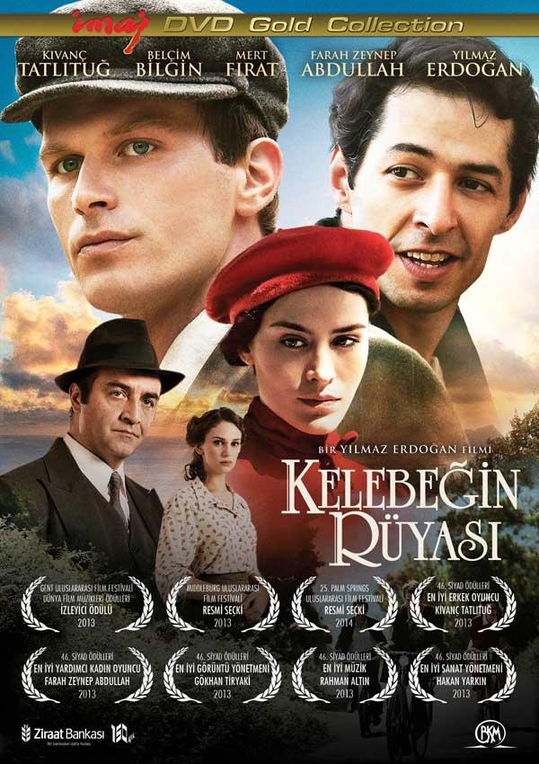Kelebeğin Rüyası <br />(DVD) <br />Kıvanç Tatlıtuğ, <br />Mert Fırat, <br />Yılmaz Erdoğan, <br />Belçim Bilgin