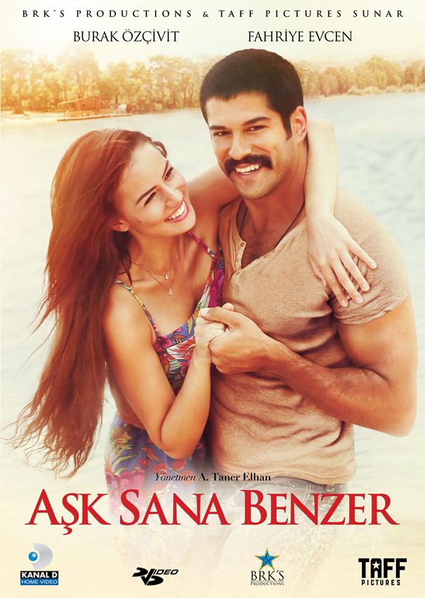 Aşk Sana Benzer <br />(DVD) <br />Fahriye Evcen, <br />Selim Bayraktar, Burak Özçivit