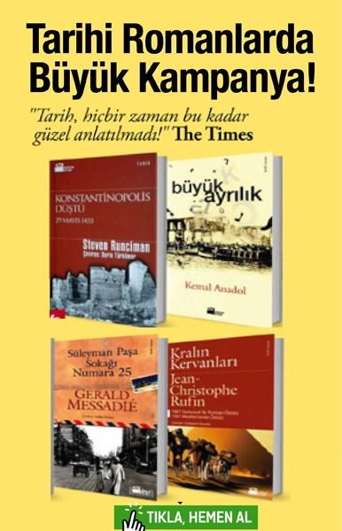 Tarihi Romanlarda <br />B&#252;y&#252;k Kampanya <br />(4 Kitap Birarada)