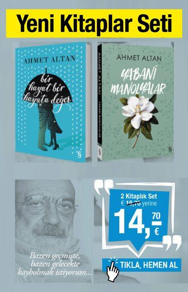 Ahmet Altan Seti <br />(2 Kitap Birarada)