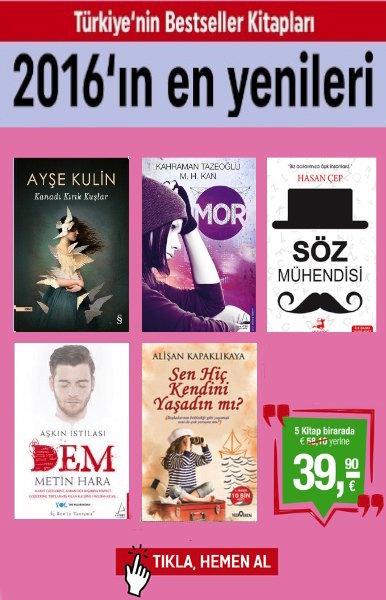 2016'&#305;n En Yenileri <br />(5 Kitap Birarada) <br />En&#160;&#199;ok Satan, En Pop&#252;ler Kitaplar!