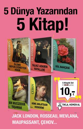 5 D&#252;nya Yazar&#305;ndan<br />5 Kitap<br />Jack London'dan Mevlana'ya Kadar!