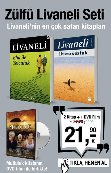 Zülfü Livaneli Seti (2 Kitap + 1 DVD Film) Livaneli'nin En çok Satanları!