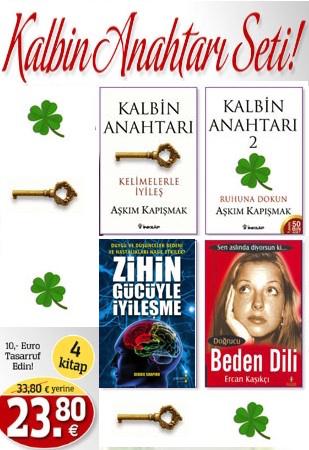 Kalbin Anahtarı Seti<br />(4 Kitap Birarada)<br />10,- Euro Tasarruf Edin!