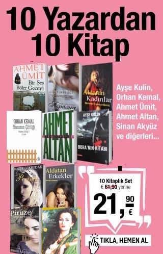 10 Yazardan 10 Kitap<br />40,- Euro Tasarruf Edin!