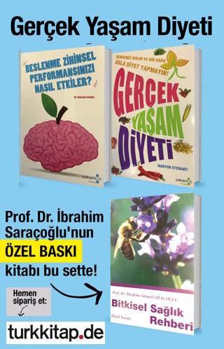 Gerçek Yaşam Diyeti Seti (3 Kitap Birarada) İbrahim Saraçoğlu'nun Kitabı bu sette!