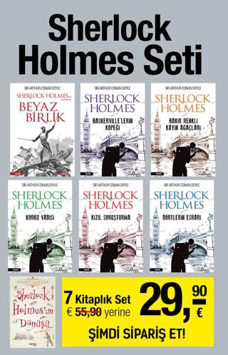 Sherlock&#160;Holmes Seti&#160;<br />(7 Kitap Birarada)&#160; En Heyecanl&#305; Polisiye Romanlar