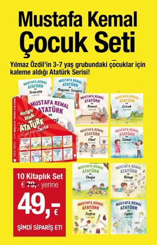 Mustafa Kemal Atatürk Çocuk Seti (10 Kitap Birarada)