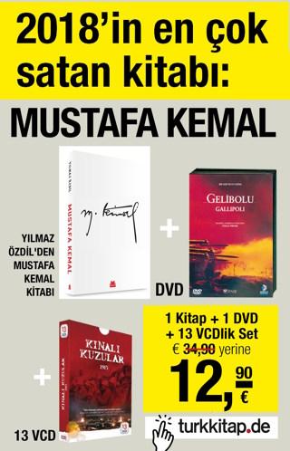 Mustafa Kemal Seti -2018'in En Çok Satan Kitabı Bu Sette!