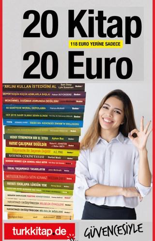 20 Kitap 20 Euro - Yeni Bir Hayata Başlayın!