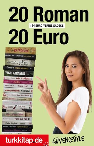 20 Roman 20 Euro - Türk Kitabevi'nin Büyük Kampanyası