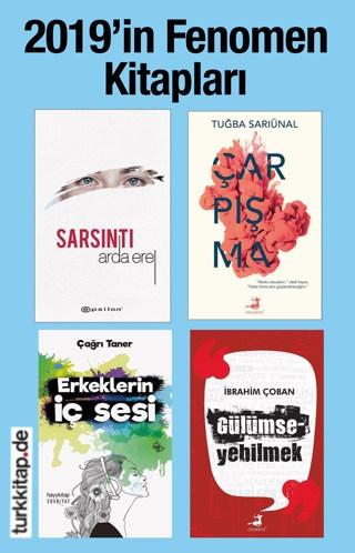 2019'in Fenomen Kitapları(4 Kitap Birarada) Arda Erel'in Yeni Kitabı bu Sette!