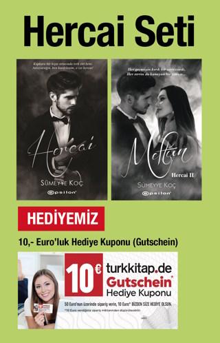 Hercai Seti (2 Kitap + 10 Euro Hediye Kuponu - Gutschein Birlikte)