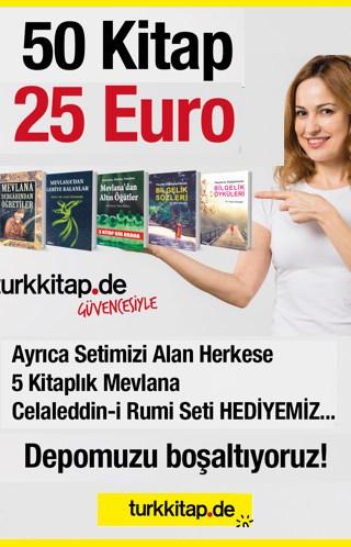 50 Kitap 25 Euro<br />Depomuzu Boşaltıyoruz<br />5 KitaplıkMevlana Celaleddin-i Rumi Seti HEDİYE