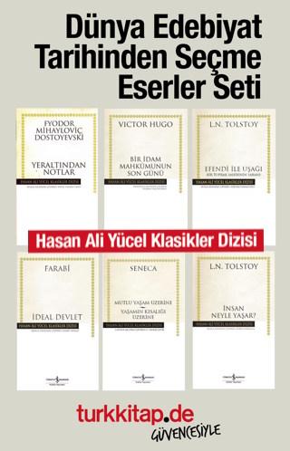 Dünya Edebiyat Tarihinden Seçme Eserler (6 Kitap) Süper İndirimli