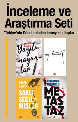 İnceleme ve Araştırma Seti (4 Kitap) Türkiye'nin Gündemindeki Kitaplar