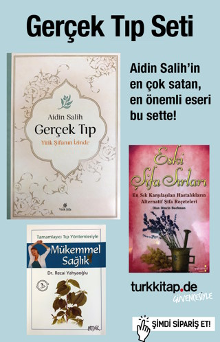 Gerçek Tıp Seti (3 Kitap) Aidin Salih'in En Çok Satan Kitabıbu Sette!..