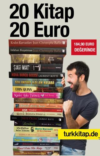 20 Kitap 20 Euro - Bestseller Roman Seti