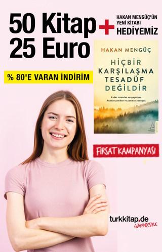 50 Kitap 25 Euro - Depomuzu Boşaltıyoruz - Hakan Mengüç'un Yeni Kitabi Hediye