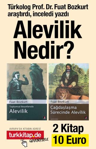 Alevilik Nedir Seti (2 Kitap) Türkolog Prof. Dr. Fuat Bozkurt Yazdı!