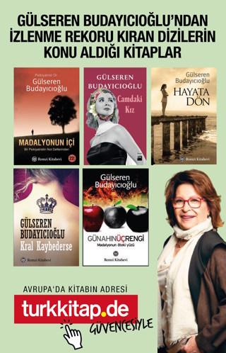 Gülseren Budayıcıoğlu'nun 5 Kitaplı Seti - Günahın Üç RengiBu Sette!
