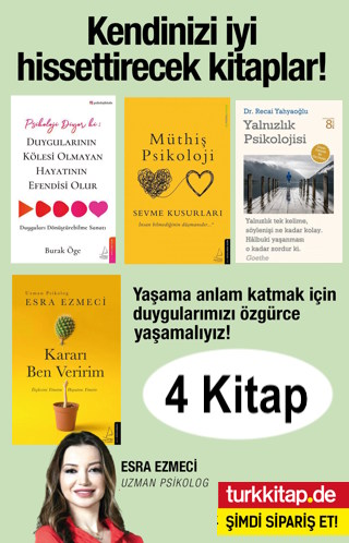 Kendinizi İyi Hissettirecek Kitaplar Seti (4 Kitap)