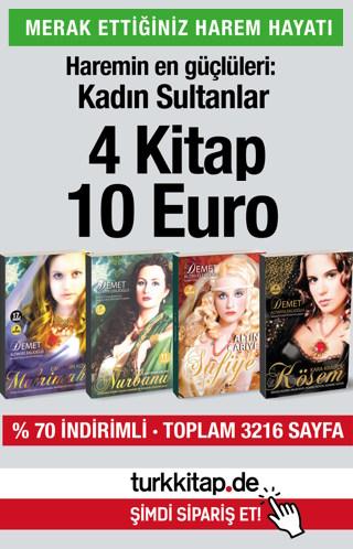 Kadın Sultanlar (4 Kitap) Haremin en Güçlüleri!
