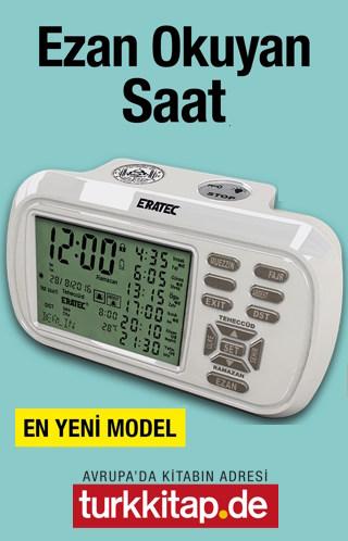 Ezan Saati - Eratec AZ - 6500 (En Yeni Model) Tam Otomatik